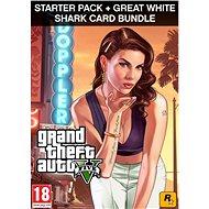 Grand Theft Auto V + Criminal Enterprise Starter Pack + Great White Shark Card (PC) DIGITAL - PC-Spiel