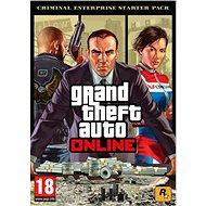 Grand Theft Auto Online: Criminal Enterprise Starter Pack (PC) DIGITAL - Gaming Zubehör