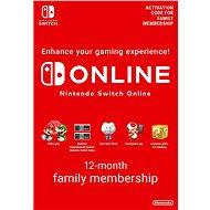 365 Days  Online Membership (Family) - Nintendo Switch Digital - Prepaid-Karte