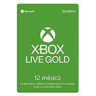 Xbox Live 12 Month Gold Membership Card (Digital-Code) - Goldene Mitgliedskarte für Xbox Live!
