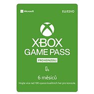 Xbox Game Pass - 6 Monate Abonnement - Prepaid-Karte