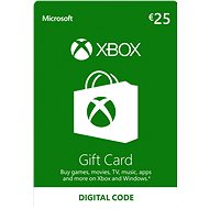 Xbox Live Geschenkkarte im Wert von 25EUR - Prepaid-Karte