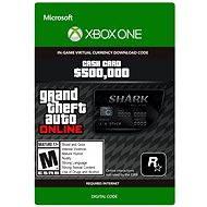 Grand Theft Auto V: Bull Shark Cash Card DIGITAL - Herní doplněk