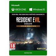 RESIDENT EVIL 7 biohazard Gold Edition - Xbox One/Win 10 Digital - PC und XBOX Spiel