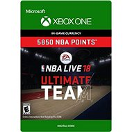 NBA LIVE 18: NBA UT 5850 Points Pack - Xbox One Digital - Gaming Zubehör