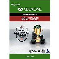 NHL 18 Ultimate Team NHL Points 5850 - Xbox One Digital - Herní doplněk