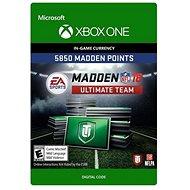 Madden NFL 18: MUT 5850 Madden Points Pack - Xbox One Digital - Herní doplněk