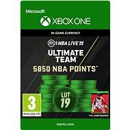 NBA LIVE 19: NBA UT 5850 Points Pack - Xbox One DIGITAL - Gaming Zubehör