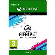 FIFA 19: CHAMPIONS EDITION - Xbox One DIGITAL - Konsolenspiel
