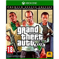 Grand Theft Auto V: Premium Online Edition  - Xbox One DIGITAL - Gaming Zubehör