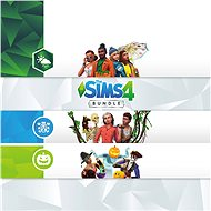 The Sims 4 Bundle (Seasons, Jungle Adventure, Spooky Stuff) - Xbox One Digital - Gaming Zubehör