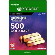 Wolfenstein: Youngblood: 500 Gold Bars - Xbox One Digital - Gaming Zubehör
