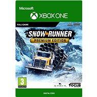 SnowRunner - Premium Edition - Xbox One Digital - Konsolenspiel