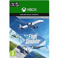 Microsoft Flight Simulator - Deluxe Edition - Xbox Serie X/S / Windows 10 Digital - PC und XBOX Spiel