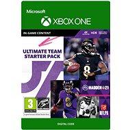 Madden NFL 21: MUT Starter Pack - Xbox One Digital - Gaming Zubehör