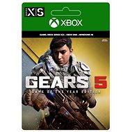 Gears 5: Game of the Year Edition - Xbox Digital - PC und XBOX Spiel