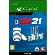 PGA Tour 2K21: 1100 Currency Pack - Xbox Digital - Gaming Zubehör