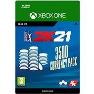 PGA Tour 2K21: 3500 Currency Pack - Xbox Digital - Gaming Zubehör