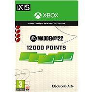 Madden NFL 22: 12000 Madden Points - Xbox Digital - Gaming Zubehör