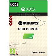 Madden NFL 22: 500 Madden Points - Xbox Digital - Gaming Zubehör