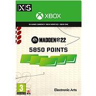 Madden NFL 22: 5850 Madden Points - Xbox Digital - Gaming Zubehör