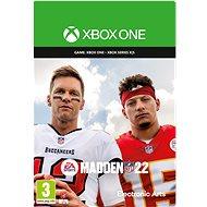 Madden NFL 22: Standard Edition - Xbox One Digital - Konsolenspiel
