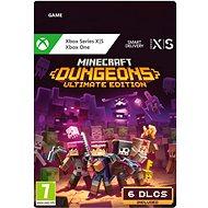 Minecraft Dungeons: Ultimate Edition - Xbox Digital - Konsolenspiel