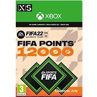 FIFA 22: 12000 FIFA Points - Xbox Digital - Gaming Zubehör