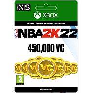 NBA 2K22: 450,000 VC - Xbox Digital - Gaming Zubehör