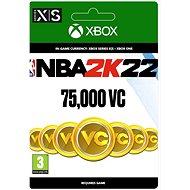 NBA 2K22: 75,000 VC - Xbox Digital - Gaming Zubehör