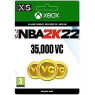 NBA 2K22: 35,000 VC - Xbox Digital - Gaming Zubehör