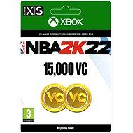 NBA 2K22: 15,000 VC - Xbox Digital - Gaming Zubehör