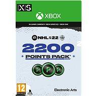 NHL 22: Ultimate Team 2200 Points - Xbox Digital - Gaming Zubehör