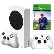 Xbox Series S + 2 x Xbox Wireless Controller + FIFA 22 - Spielkonsole