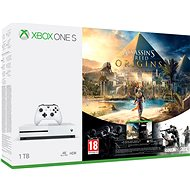 Xbox One S 1TB Assassin's Creed: Origins + Rainbox 6: Siege - Spielkonsole