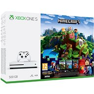Xbox One S 500GB Minecraft + Minecraft Story Mode 2 + 3 Monate LIVE GOLD - Spielkonsole