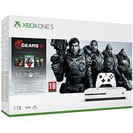 Xbox One S 1 TB + Gears 4 - Spielkonsole