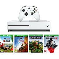 Xbox One S 1TB + Lego Forza Horizon 4 + Gears 5 + Minecraft - Spielkonsole