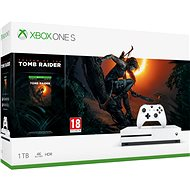 Xbox One S 1TB + Shadow of The Tomb Raider - Spielkonsole