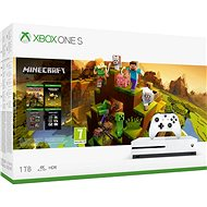 Xbox One S 1 TB + Minecraft Holiday - Spielkonsole