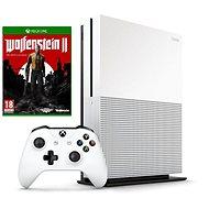 Xbox One S 500GB + Wolfenstein II: The New Colossus - Spielkonsole