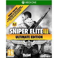 Sniper Elite 3 Ultimate Edition - Xbox One - Konsolenspiel