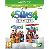 Die Sims 4: Cats and Dogs Bundle (Volles Spiel + Erweiterung) - Xbox One - Konsolenspiel
