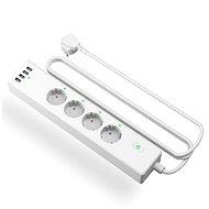Meross Smart Power Strip 4 AC + 4 USB-Anschlüsse - Smart Steckdose