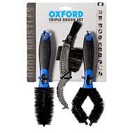 OXFORD OXFORD sada kartáčů pro čištění (sada 3ks, štětiny z jemného nylonu) - Zubehör
