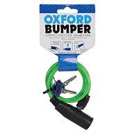 OXFORD zámek Bumper Cable Lock, zelený 60cm - Schloss