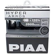 Autožárovky PIAA Hyper Arros 3900K H11 - o 120 procent vyšší svítivost, zvýšený jas - Auto-Glühlampe
