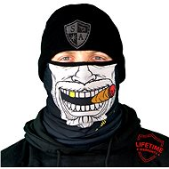 SACO Fleece face shield - Gangster - Tuch