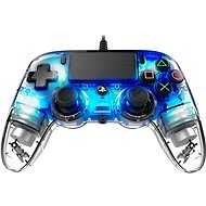 Nacon Wired Compact Controller PS4 - transparent Blau - Gamepad
