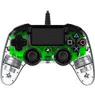 Gamepad Nacon Wired Compact Controller PS4 - Transparent Grün